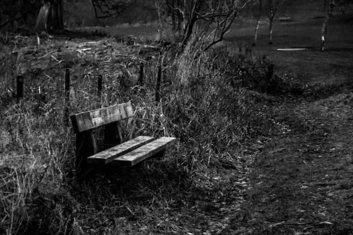 schöne-traurige-bilder-in-schwarzweiß-eine-bank