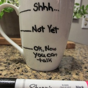 Tassen selbst bemalen - Tipps und Tricks