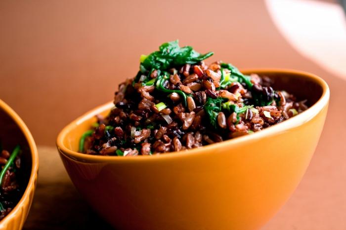 schwarzer reis gesund gesundheit heißt gutes essen in angemessenen mengen nicht zu viel