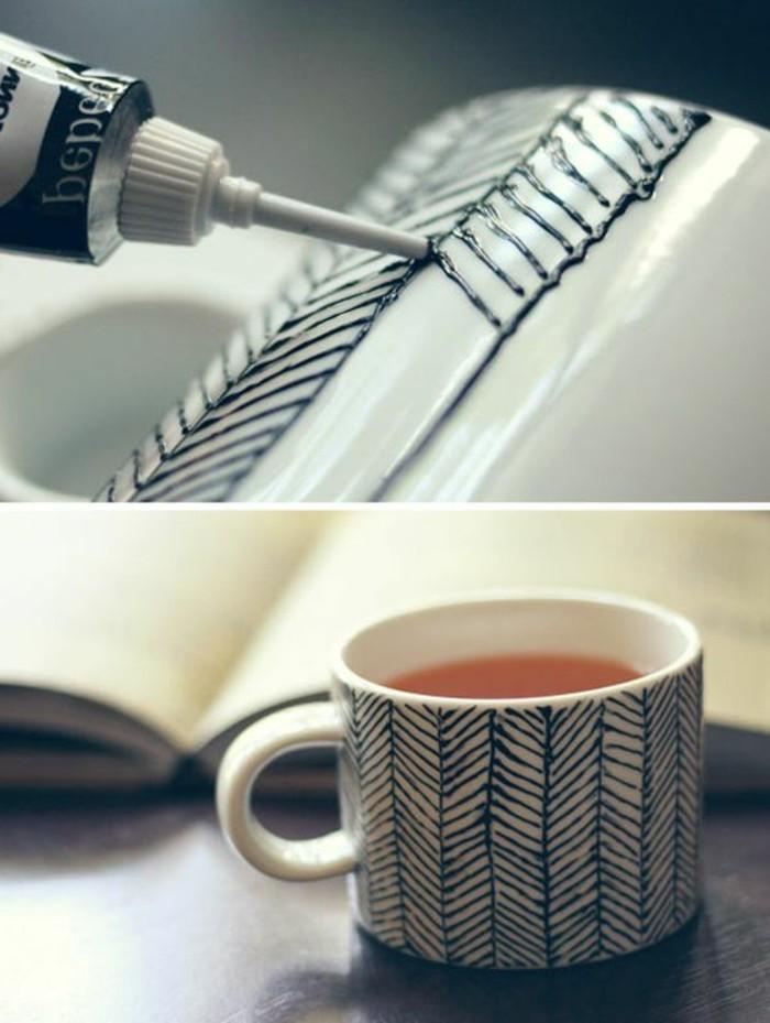 tassen-bemalen-ideen-mit-farbstoff-schwarze-linien-schaffen
