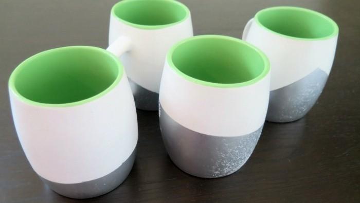 tassen-selbst-bemalen-in-silberner-grüner-und-weißer-farbe