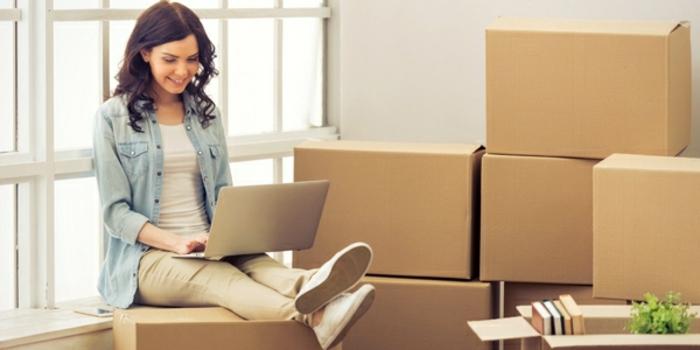 Karton packen - Umzug planen