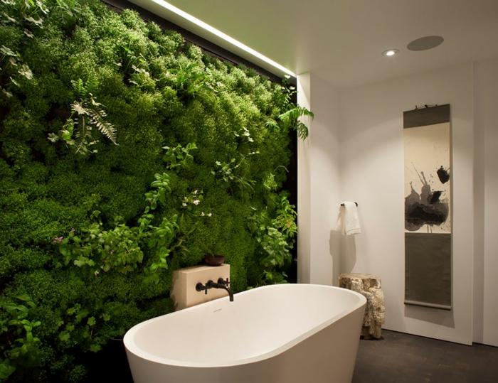 DIY Moosbild für ein frisches Badezimmer