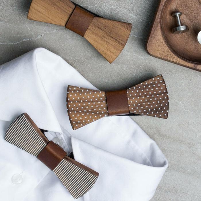 weisses-hemd-mit-fliege-verschiedene-modelle-und-designs-von-fliegen-und-mascherln-schleifen