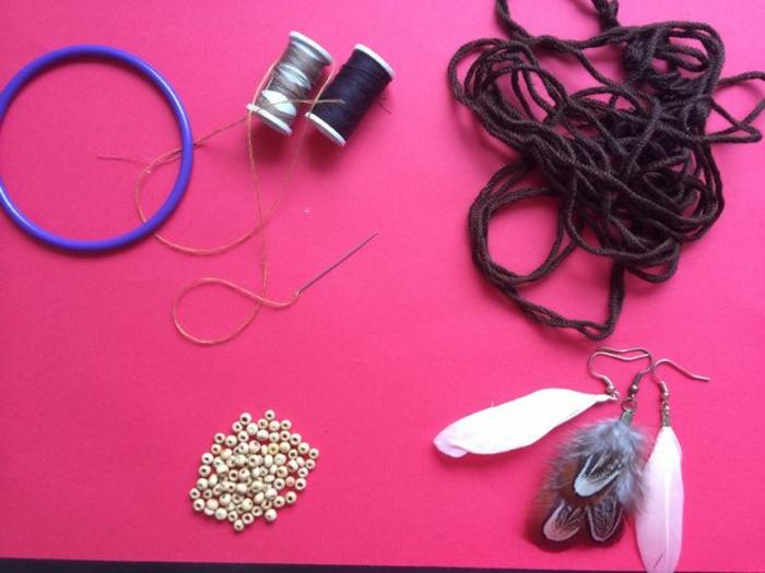Traumfänger basteln - welche Materialien benötigen Sie?