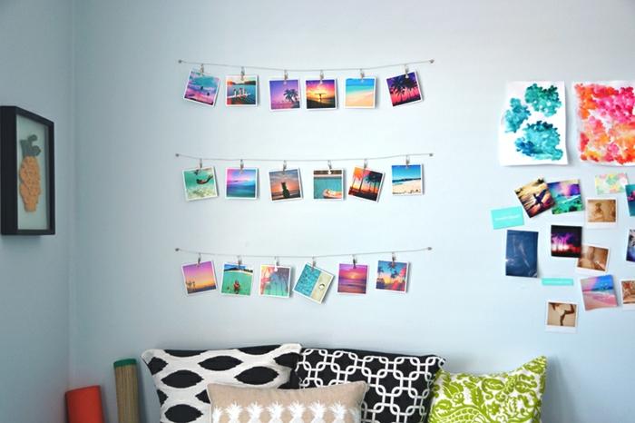coole Bilderwand Ideen für ein buntes Haus