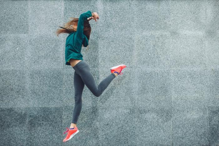 Ausdauersport-Outdoor-Tanzen