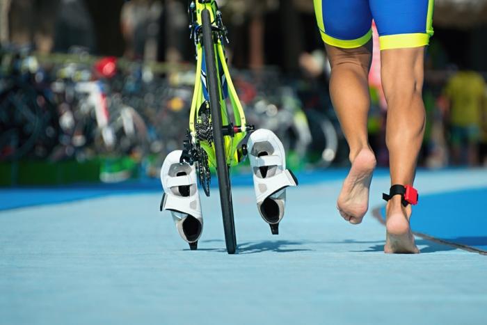 Ausdauersport-Outdoor-Triathlon
