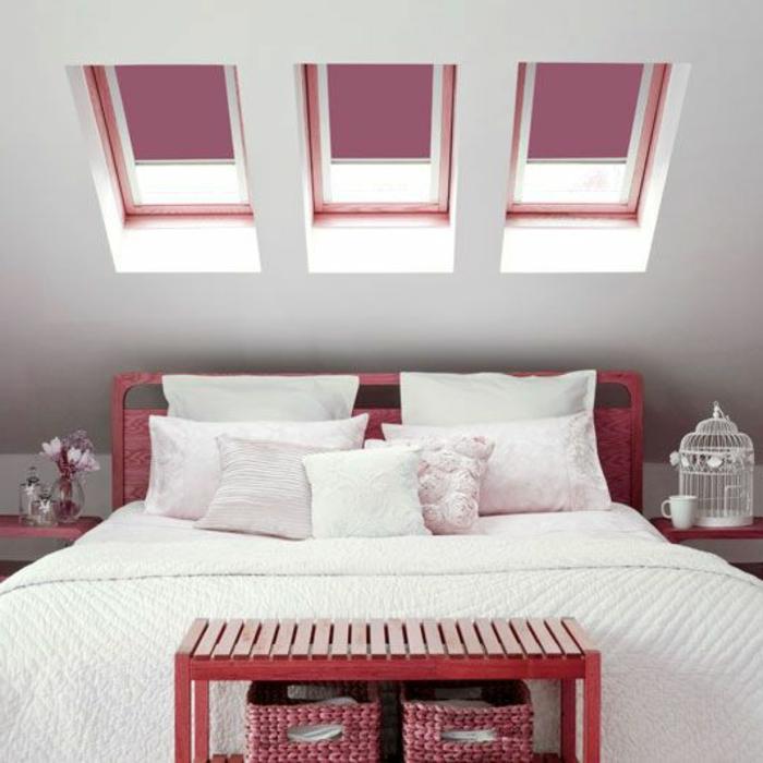 Fenster Rollos Schlafzimmer: Wohlf hlklima in ihrer dachwohnung ...