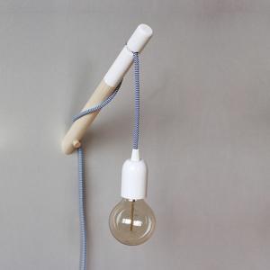 Textilkabel Lampe - Lichtideen für ein heimeliges Zuhause