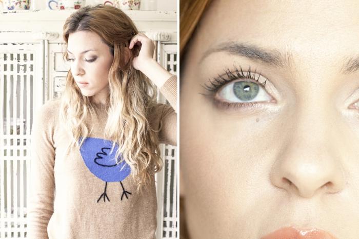 perfektes make up schminke idee blaue augen brauchen nur mascara um unterstrichen zu werden