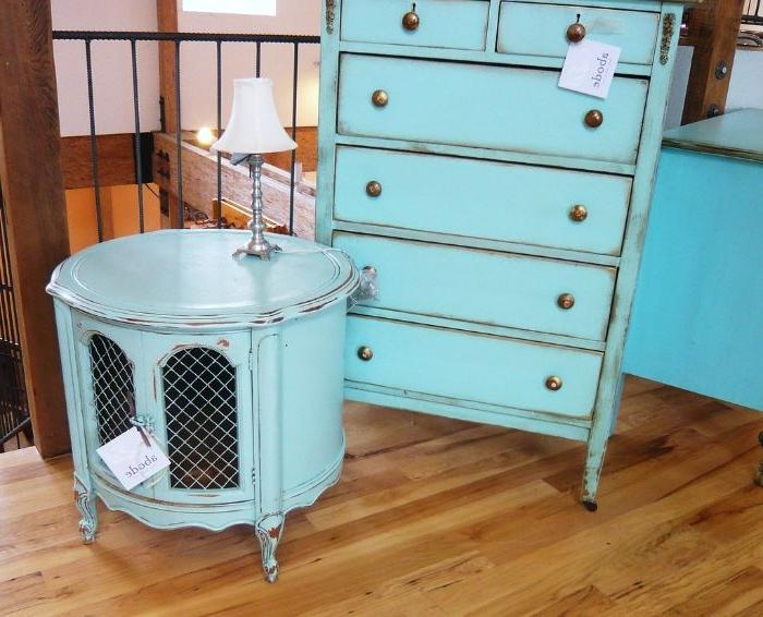 aus alt mach neu, vintage möbel, schrank, kasten deko ideen, blaue möbel