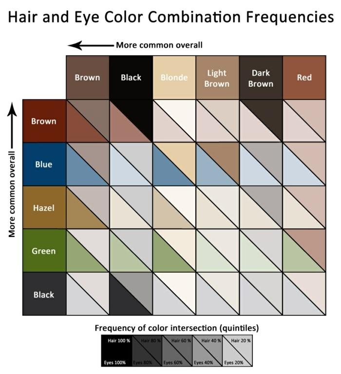 augenfarben bedeutung kombinationen haarfarbe und augenfarbe was ist zu erwarten tabelle