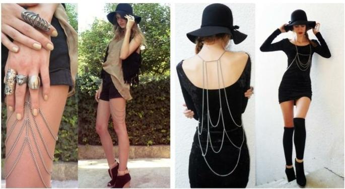 coachella mode accessoires die man gerne auf dem festival tragen kann ausgefallene ideen ring kette