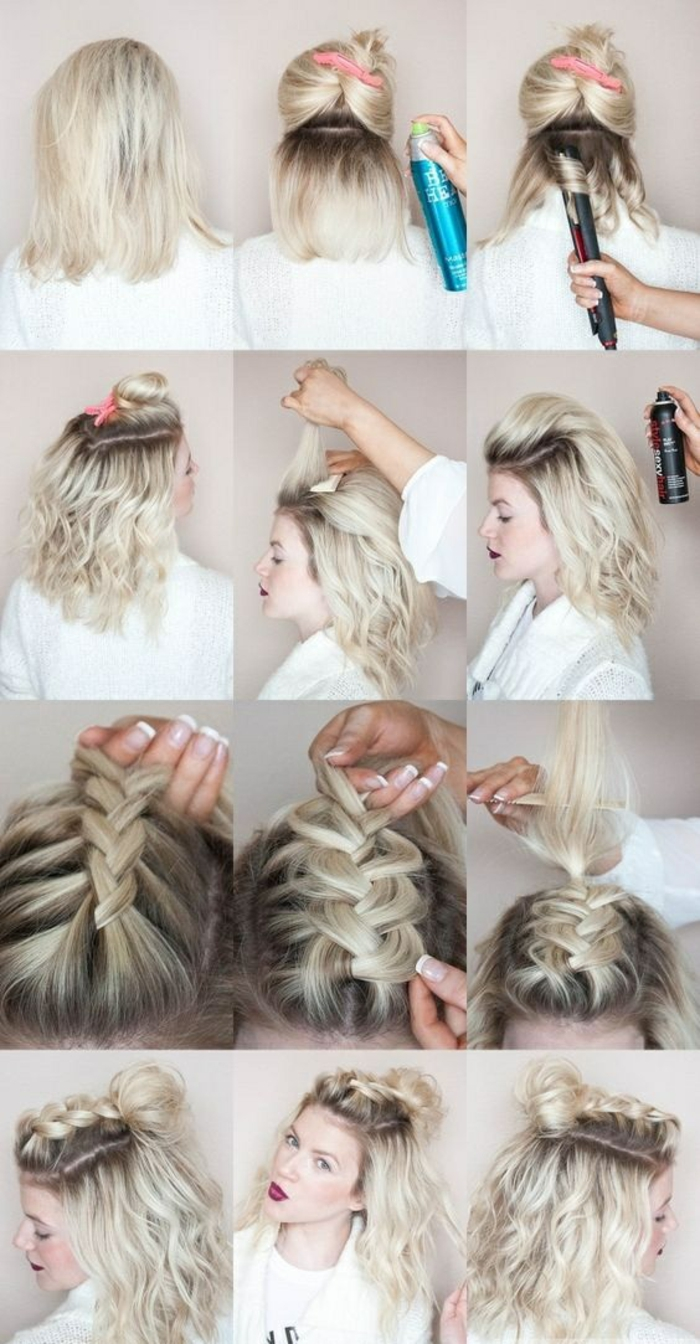 Mittellange Haare Frisuren Ideen Trendige Frisuren Fur Kurzes Haar