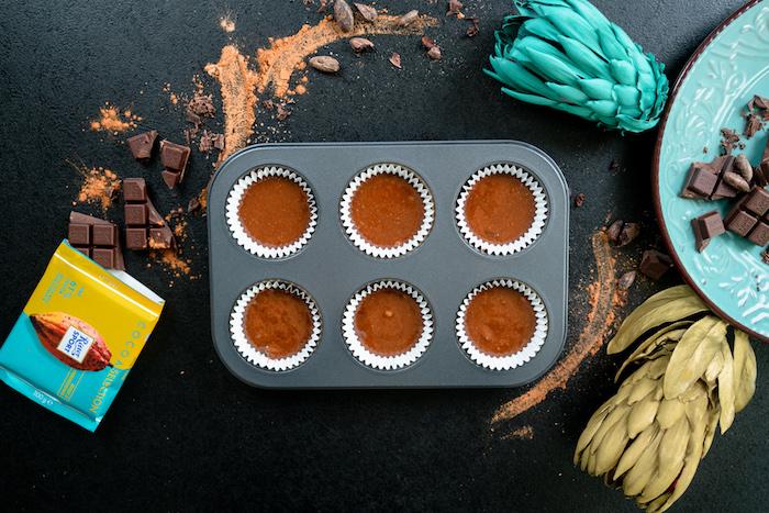 Cupcakes bei 170 Grad 15 Minuten backen, Rezept Schritt für Schritt