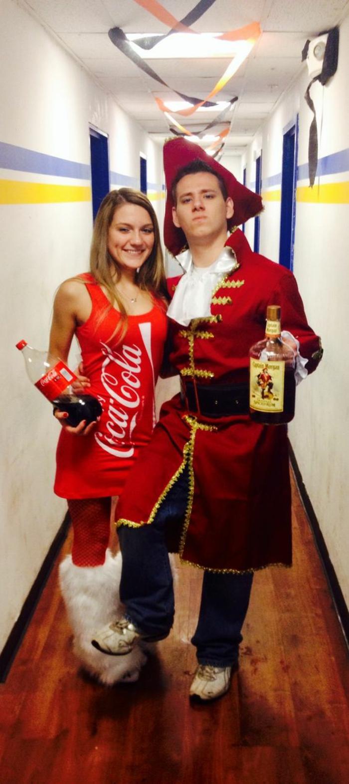 Kostüme selber machen für den Fasching in der Schule - alkoholische und alkoholfreie Getränke Kostüme