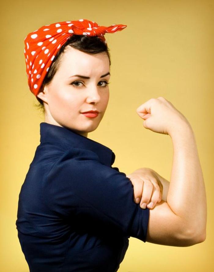 Kostüm leicht selber machen - das Symbol von Feminist Bewegung
