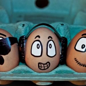 Lustige Ostereier - 50+ Ideen zum Nachmachen und Inspirieren