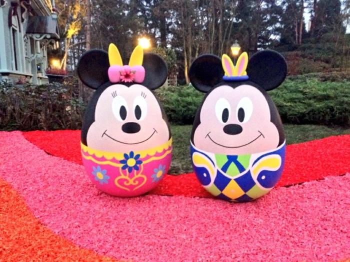 Eier lustig in Disneyland- wie Mini und Miki Maus zu Ostern
