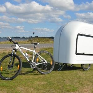 Wide Path Camper: zusammenklappbarer Fahrrad Wohnwagen