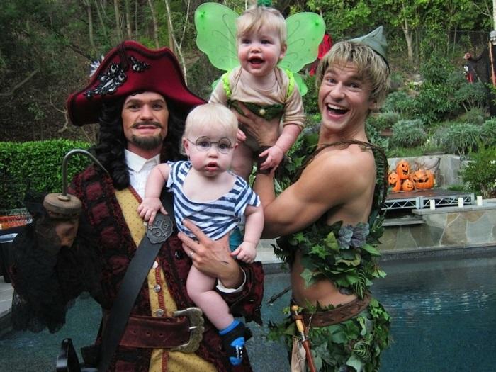 Gruppenkostüme Ideen aus den Stars - Peter Pan