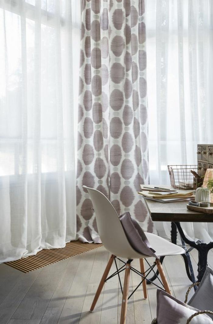 gardinen mit punkten gardinen 2018. Black Bedroom Furniture Sets. Home Design Ideas