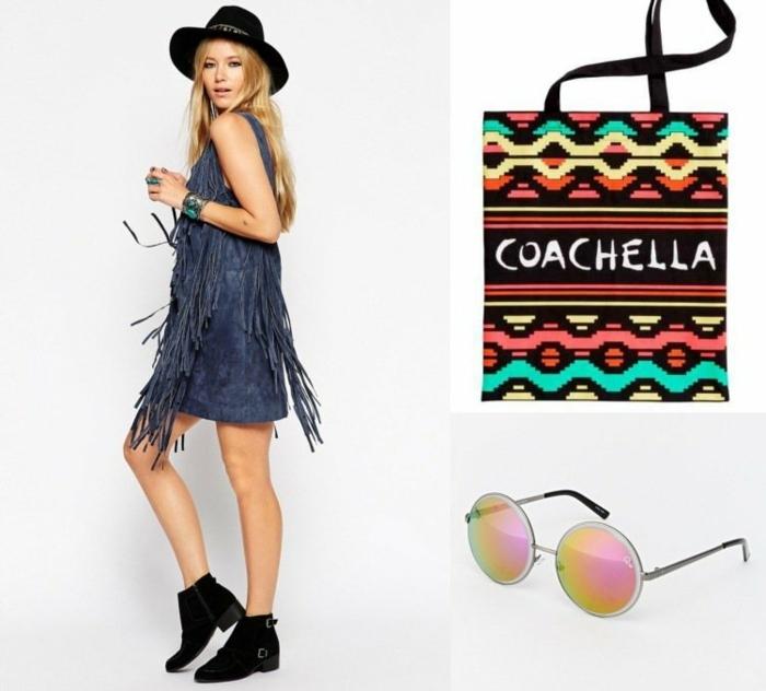 coachella festival ideen was man auf einem musikfestival anziehen kann coachella tasche brille