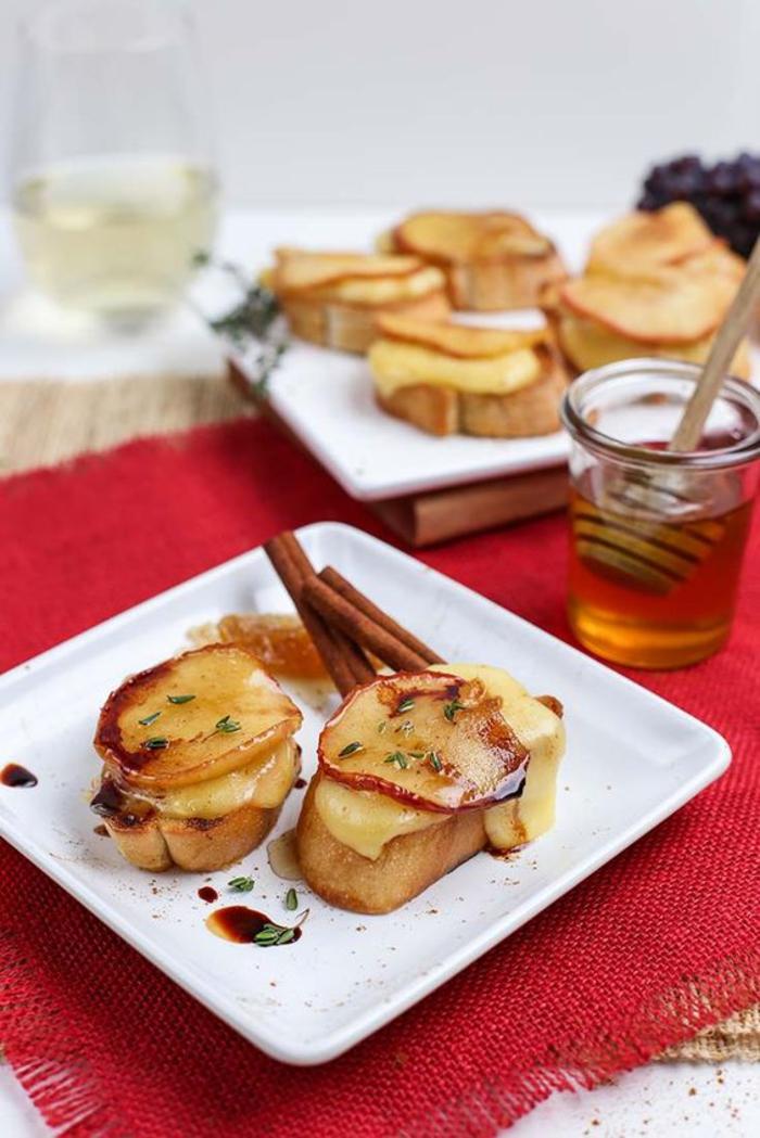 Karamellisierte Äpfel, Fitness Kuchen, gesund