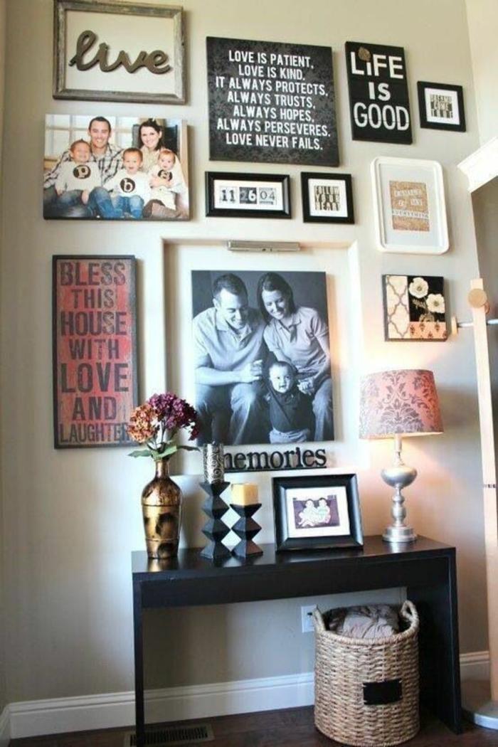 Fotocollage Ideen.1001 Ideen Für Fotowand Interessante Wandgestaltung