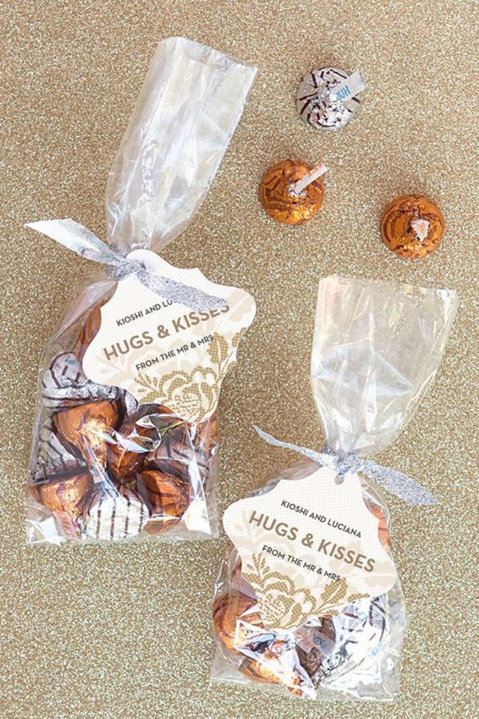 hochzeit, gastgeschenk, bonbons, schokolade, paeckchen, suessigkeiten
