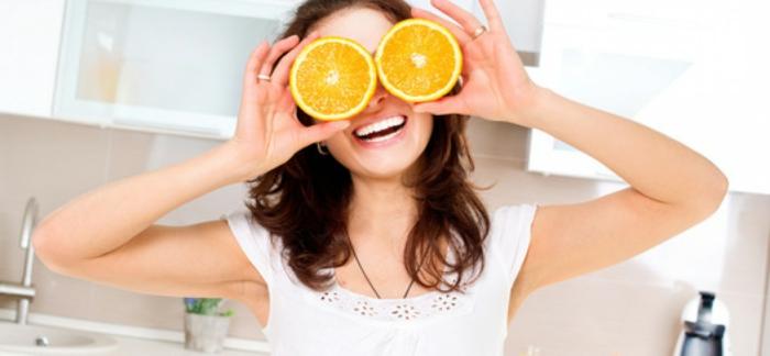 was bedeuten braune augen orangen anstelle von augen obst und gemüse ausgewogene ernährung