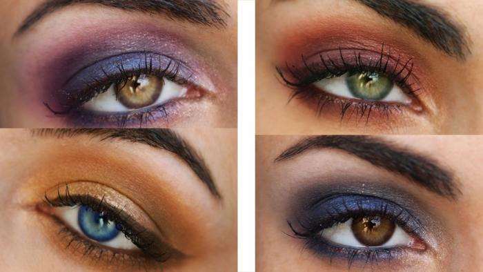 was bedeuten braune augen wie kann man sich mit verschiedenen augenfarben schminken
