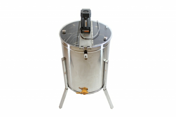Moderne, elektrische Honigschleuder aus Stahl für Sammlung von Honig