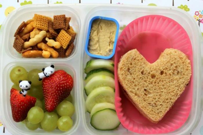kichererbsen zu hummus machen lustiges mittagessen für kinder frohe kinder buntes essen