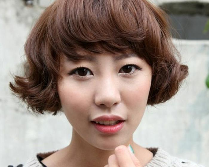 ein super süßer Haarschnitt für kurze Haare