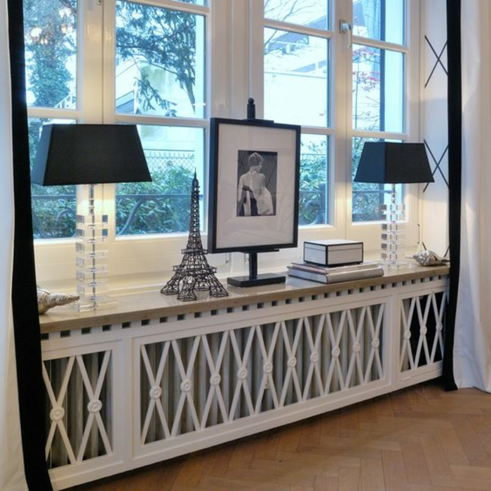 1001 tolle ideen f r fensterdeko mit fensterbank lampen. Black Bedroom Furniture Sets. Home Design Ideas