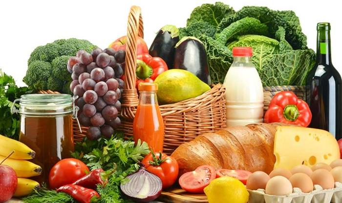 lebensmittelzertifikate, obst, gemüse, brot, honig, milch, wein, käse