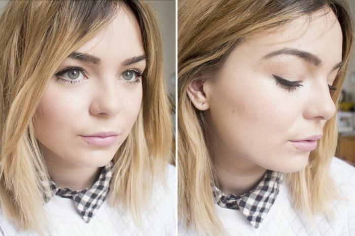 make up tipps für große grüne augen und blonde haare braune augenbrauen ideen bekleidung