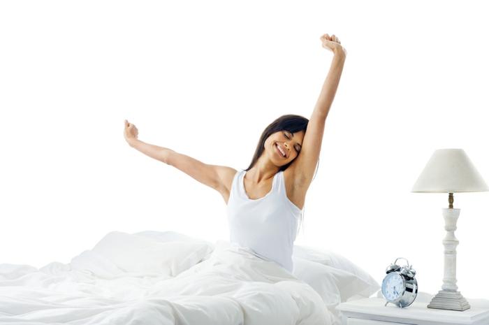 die passende Matratze: richtig erholt und glücklich nach dem langen Schlaf aufwachen