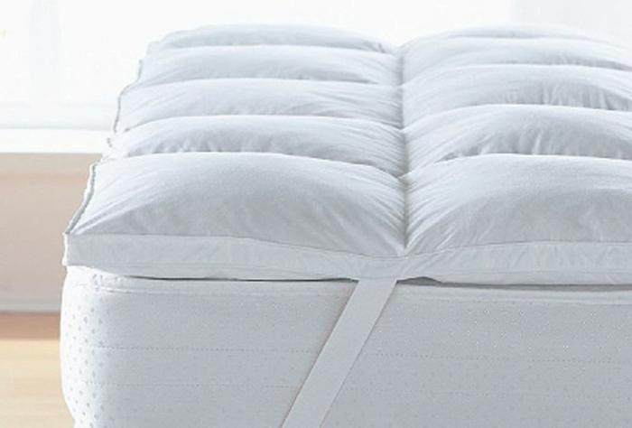 die Matratze wird mit einem Topper noch komfortabler und bleibt unabgenutzt für längere Zeit