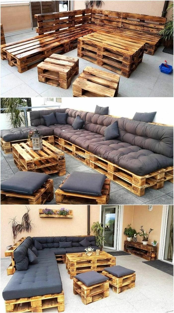 DIY Anleitung, alte Kisten aus Holz Transformation zu einer Bank, Upcycling Möbel,