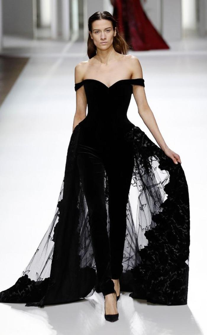 Langes schwarzes kleid kaufen
