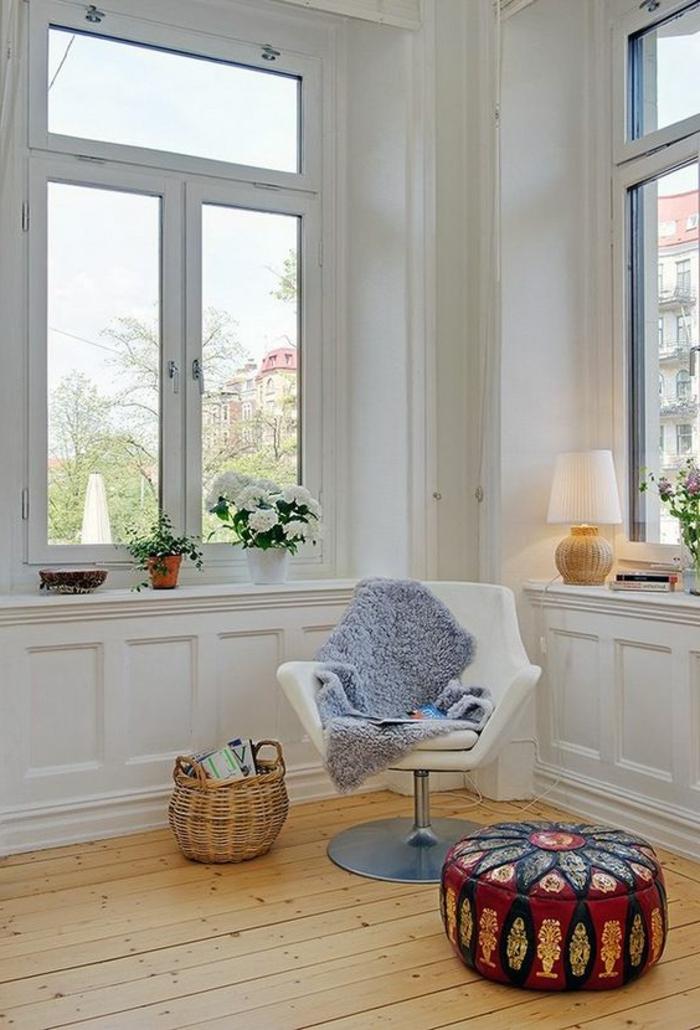 1001 tolle ideen f r fensterdeko mit fensterbank lampen - Fensterbanke dekorieren ...
