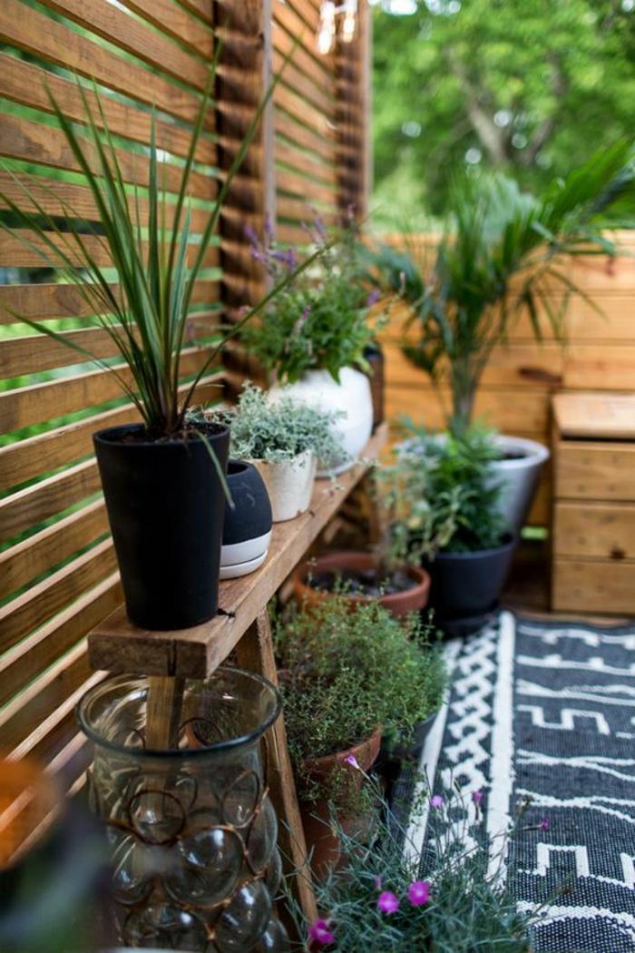 terrassengestaltung pflanzen ideen zur dekoration dekorationen von terrasse mit pflanzen