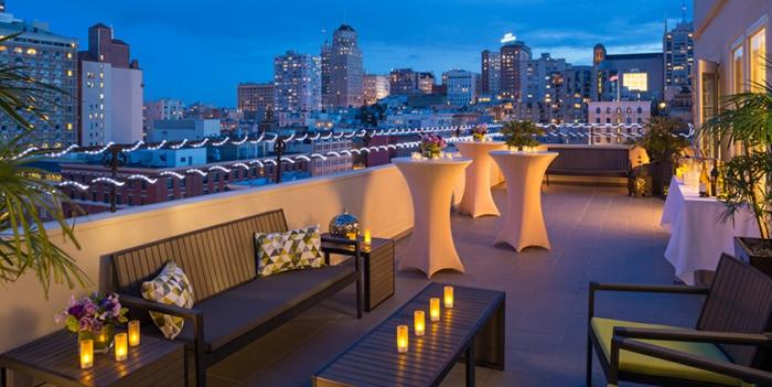 terrassengestaltung bilder die jeden inspirieren können schöne party plätze safo tische deko abend