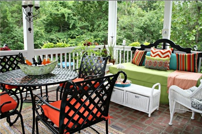 terrassengestaltung bilder mit bunten terrassen gartendeko ideen bunte einrichtung von terrasse