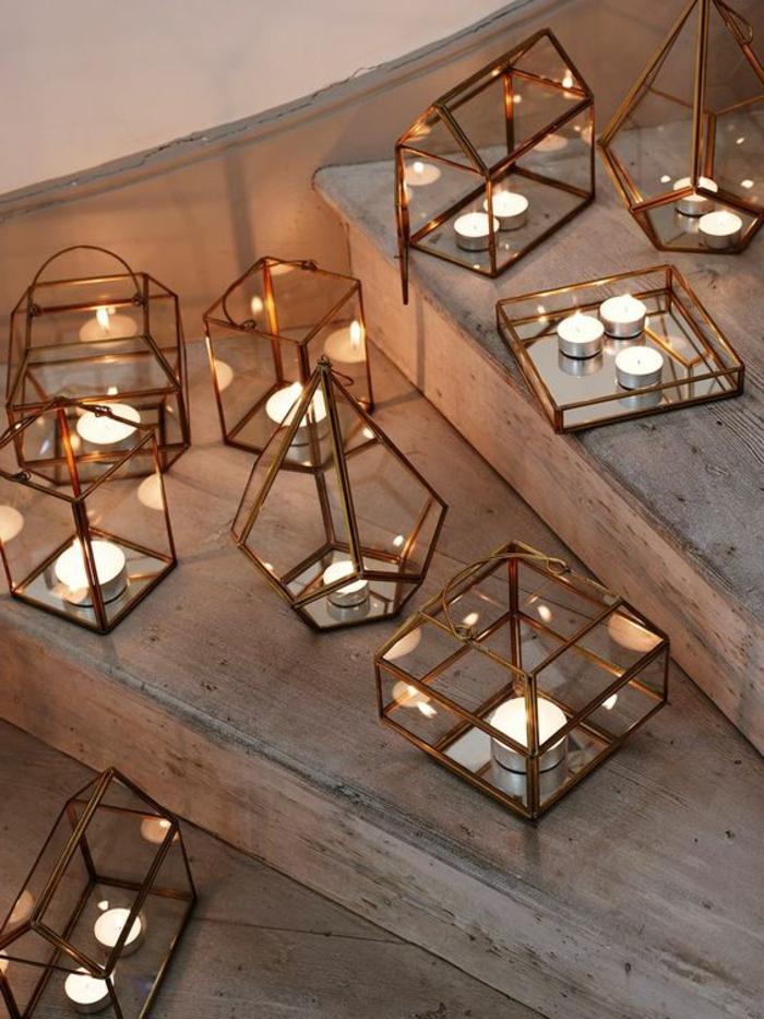 terrassen ideen lampen kerzen dekorationen auf der terrasse sind besonders wichtig treppe