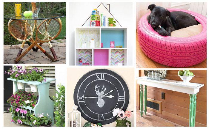 do it yourself ideen, sechs deko elemente ideen zum entlehnen, kreative möbel und deko zu hause