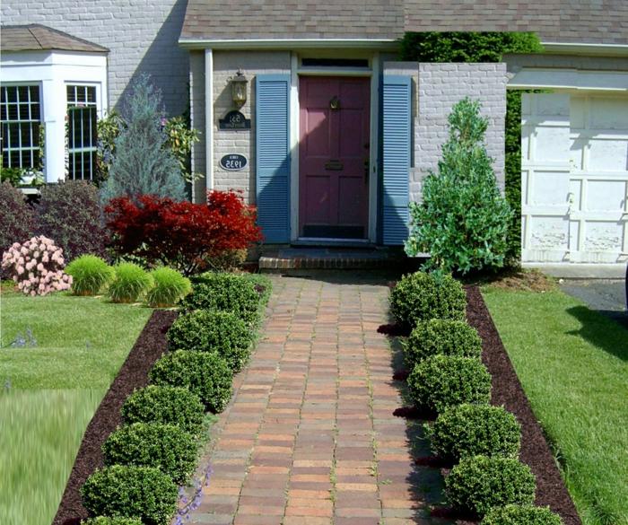 mit Photoshop die traumhafte Gartengestaltung erstellen - schöne Vorgarten